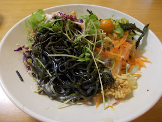 Cold Charcoal Noodles Salad, S$ 8.50