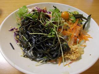 Cold Charcoal Noodles Salad, S$ 8.50