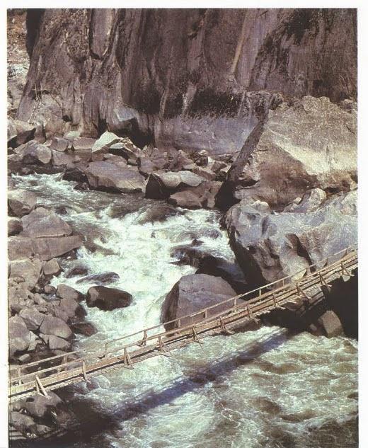 Río Duero en Presa Aldeadávila de la Ribera