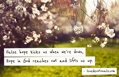 Hope in God lifts us up