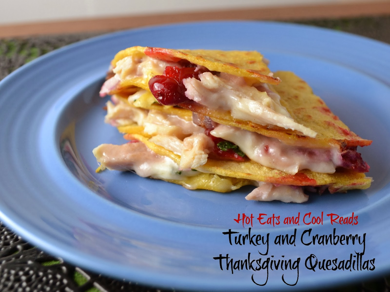 Hot Eats and Cool Reads: Turkey and Cranberry Thanksgiving ...