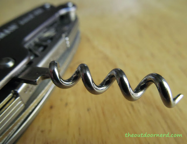 Leatherman Juice XE6 Multi-Tool: Closeup Of Corkscrew