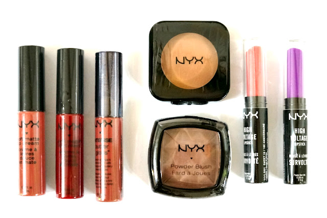 NYX Soft Matte Lipsticks, Intense Butter Gloss, Powder and HD Blushes