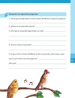 Apoyo Primaria Español 1er grado Bimestre 5 lección 7 Muchas voces para cantar