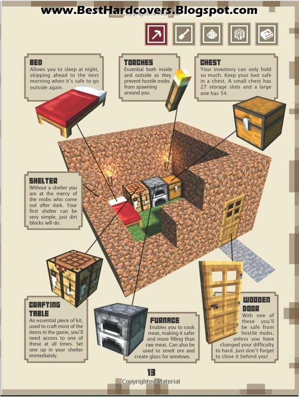 Craft Book Cover Page : Best hardcovers minecraft the official annual