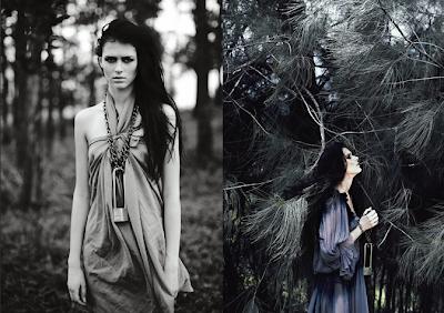 Alena Frolova for Dew Magazine and Elle Magazine Indonesia