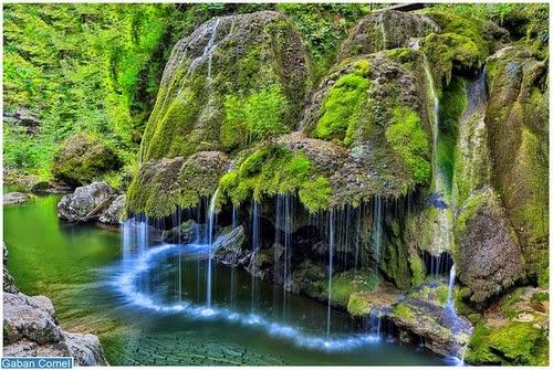 Waterfall Izvorul Bigar Air Terjun Paling Unik di Dunia