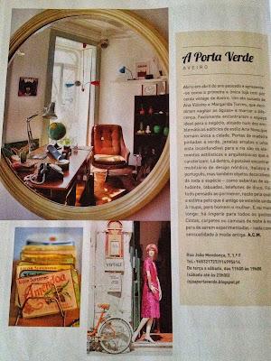 revista evasões, a Porta Verde, vintage