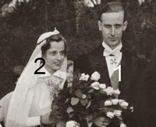 Mariage du prince Wilhelm Karl de Prusse et d'Armgard von Veltheim