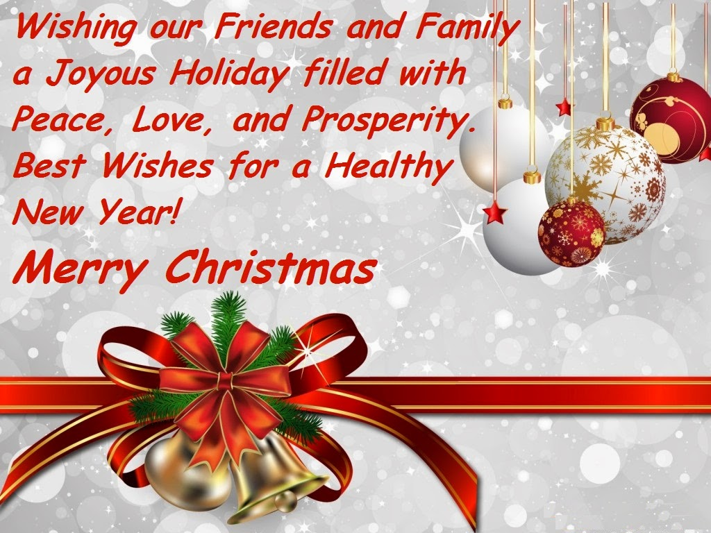 Good Christmas Day 2015 And Happy New Year 2016 Sayings For Greeting Cards