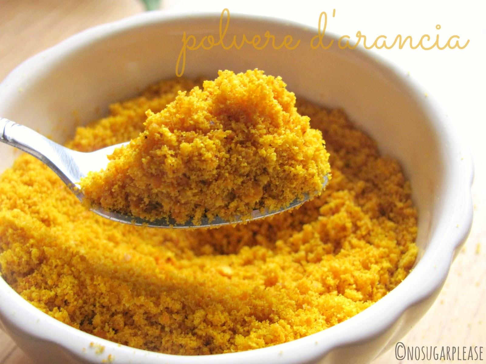 polvere arancia