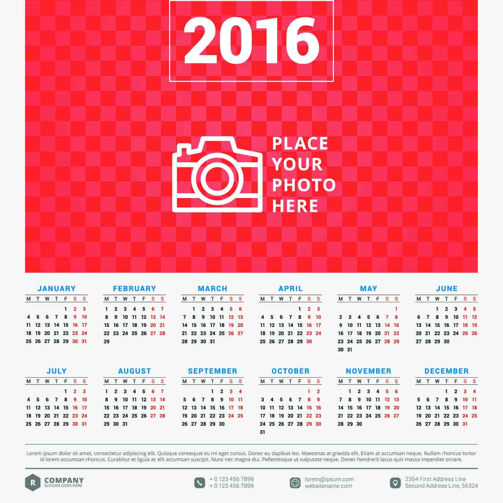 カレンダー 2015無料カレンダー : 2016カレンダー無料 ...