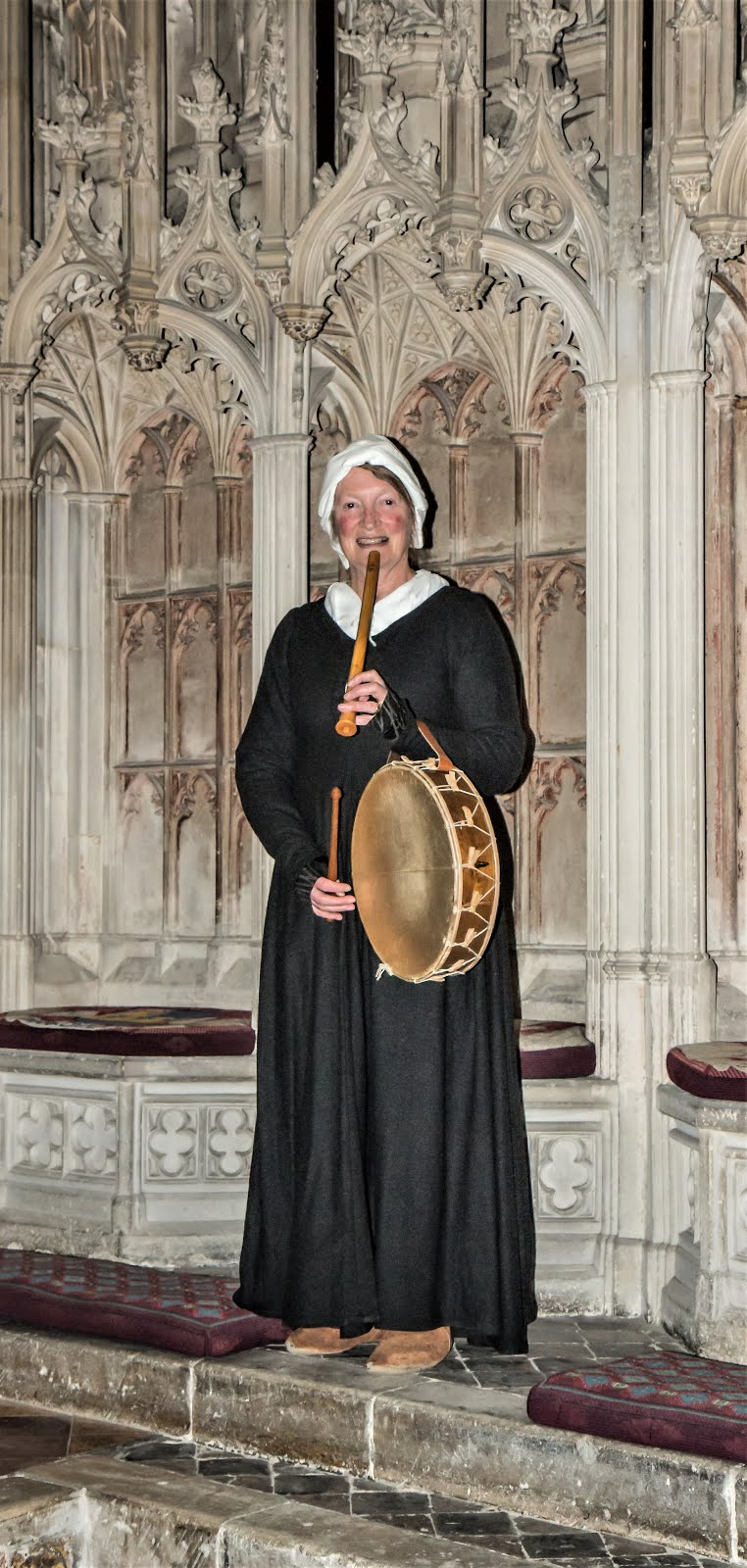 Mediaeval music in Gloucester cathedral