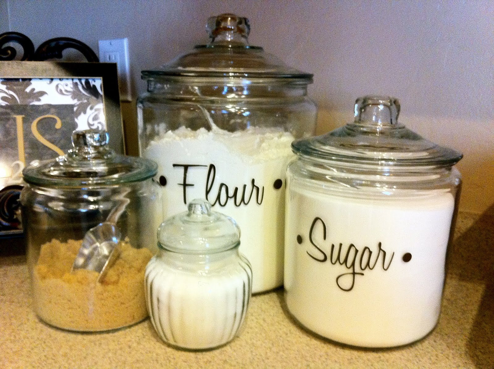 badd kitchen jar labels