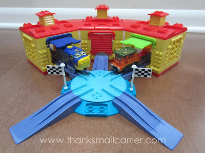 Mega Bloks Chuggington Roundhouse Racing review