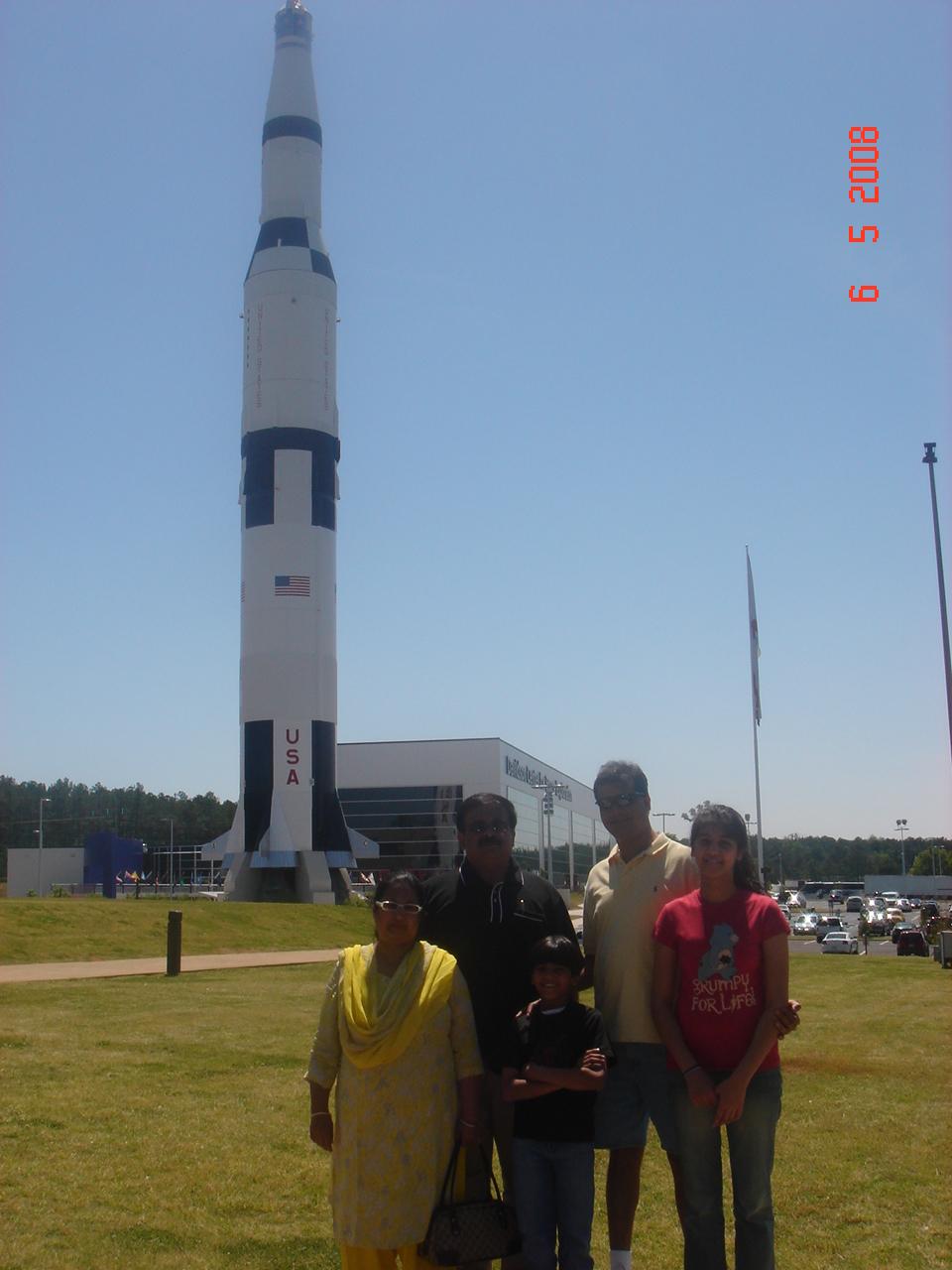 Rockets at Rocket City, Huntsville USA