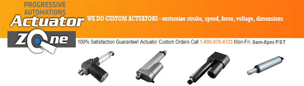 Custom Linear Actuator by ActuatorZone