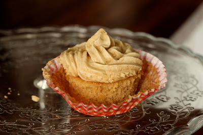Espresso cupcake unwrapped