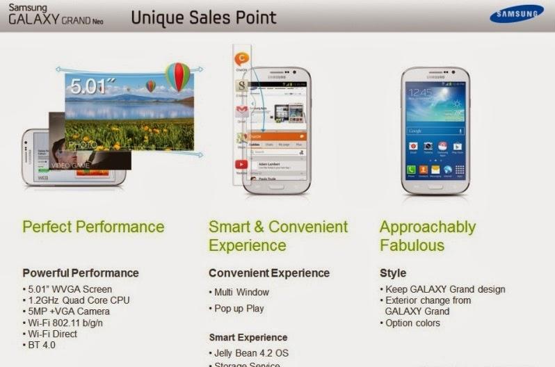 Samsung Galaxy Grand Neo (Lite) leaks