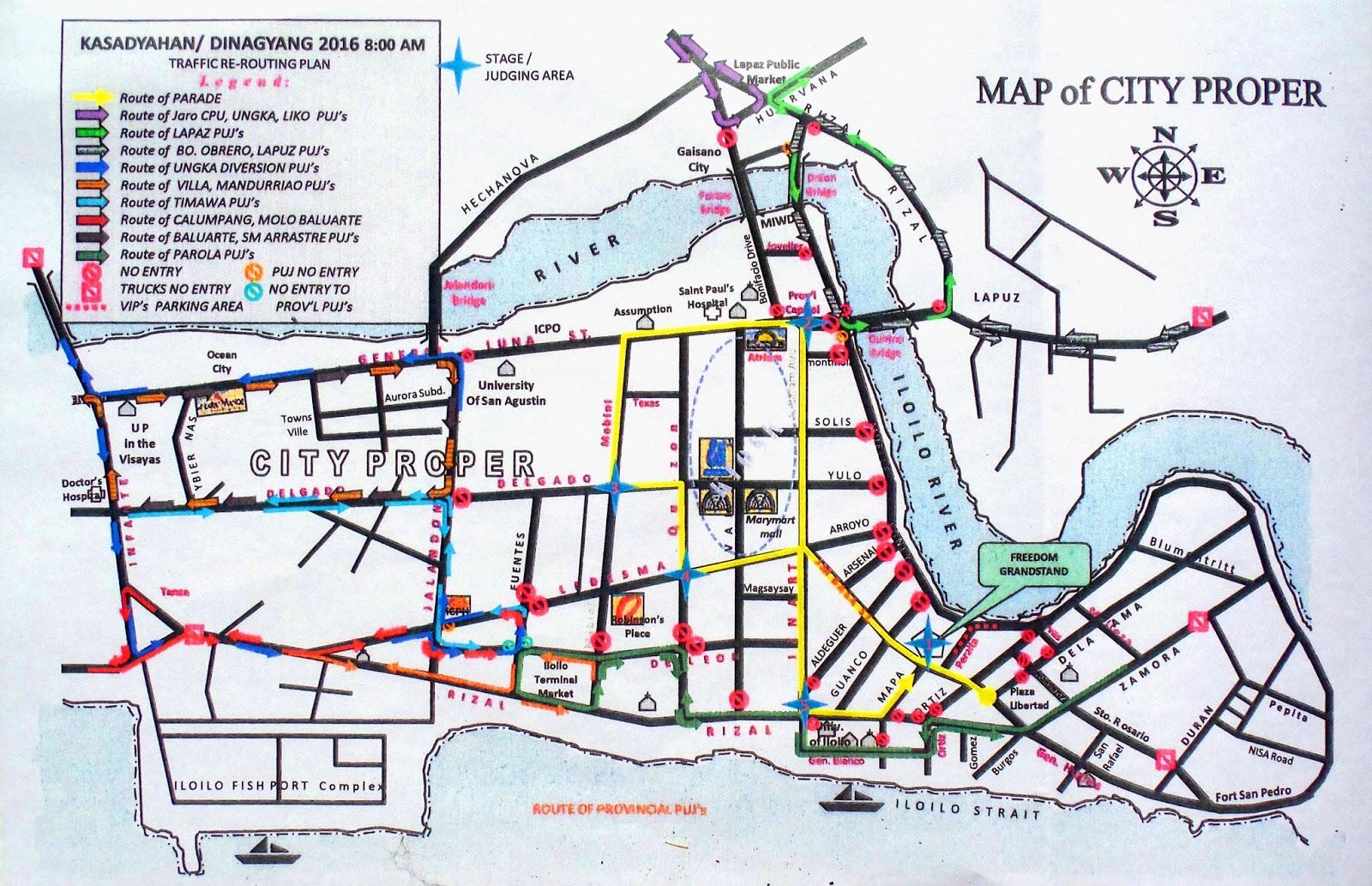 Iloilo City Disaster Risk Reduction Management Office January - Iloilo city map