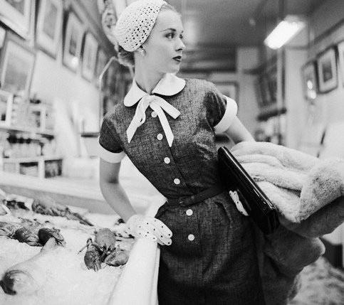 Adorable 50s Fashion #vintage #fashion #1950s #style #1960s