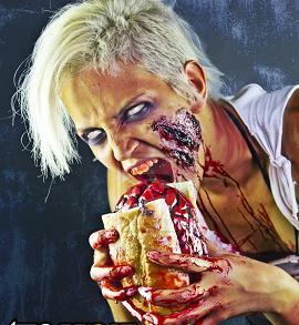 Зомби едят мясо