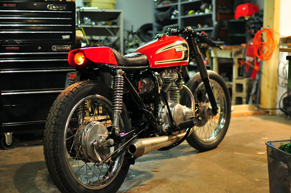 Bmw Dirt Bike >> Counter Balance Motorcycles: Honda Cb 360 Cafe Racer