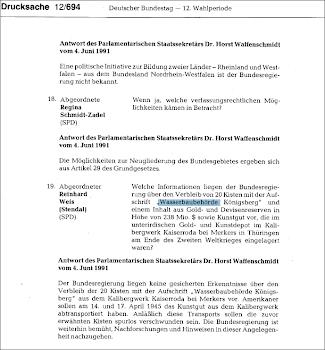 Wasserbaubehörde Königsberg  -  Waterways authority königsberg