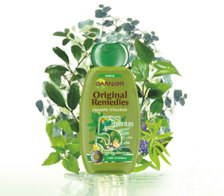 Garnier Original Remedies 5 Plantas