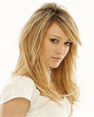 Hilary Duff Beautiful Hair