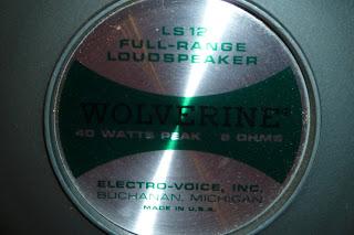 Electro Voice speaker