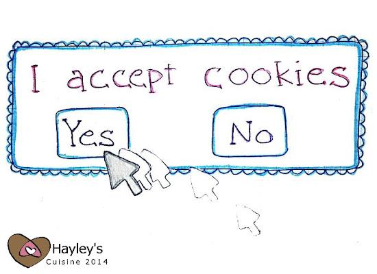 Acceptable cookies: Juustokakkukauralastut