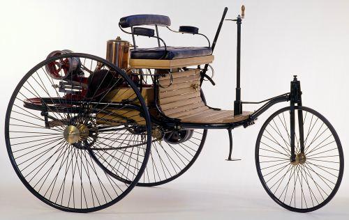 O triciclo de Karl Benz era bem avançado para a época