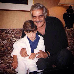 Omar and his grandson Omar Sharif Jr.