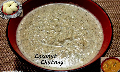 Nariyal Chutney Coconut Dip