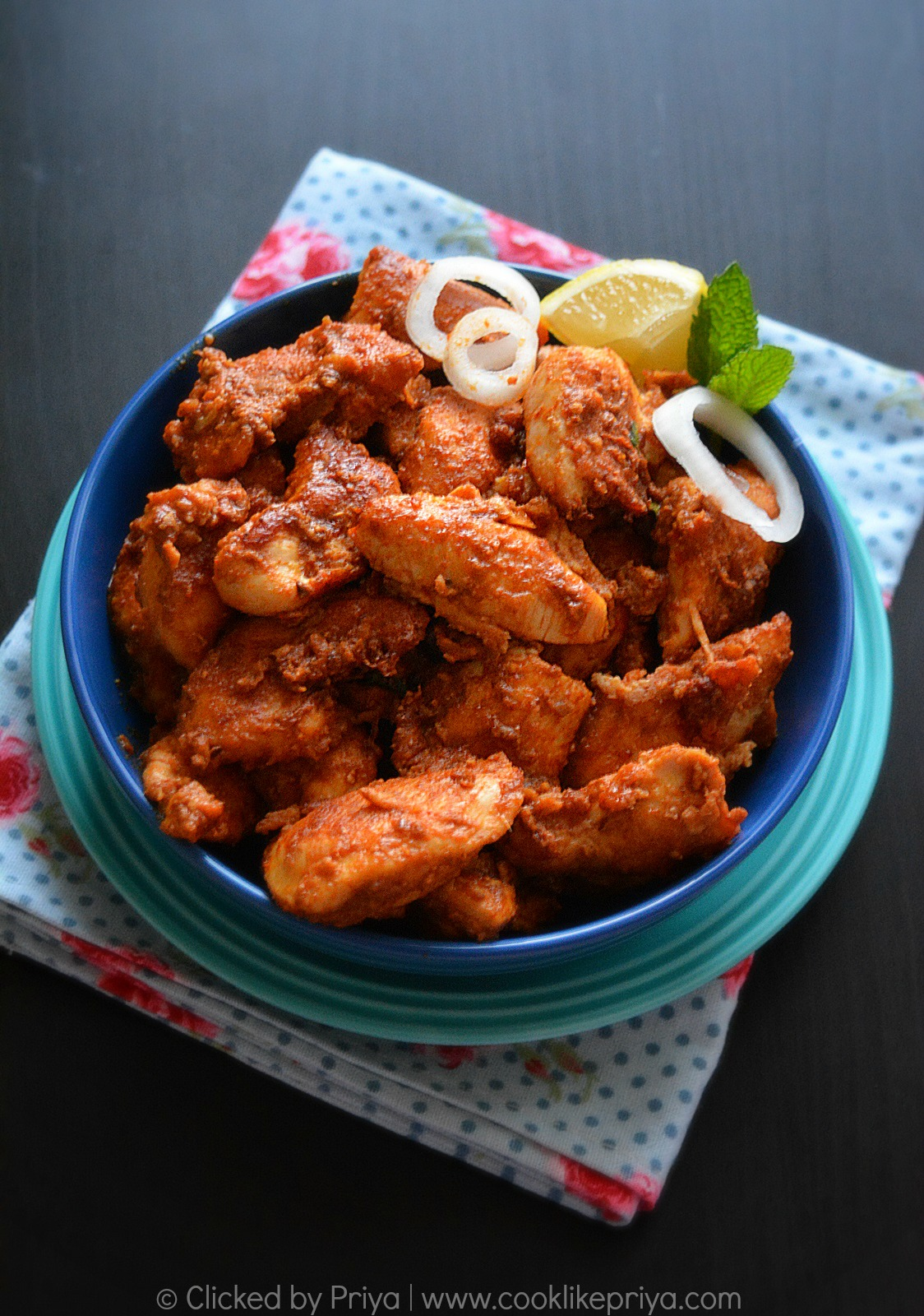 Andhra Style Majestic Chicken Recipe