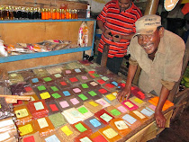 Merchant Said Taff at Zanzibar Spice Market, Tanzania