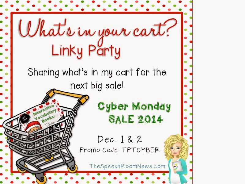 http://thespeechroomnews.com/2014/11/whats-in-your-cart-linky-party-3.html
