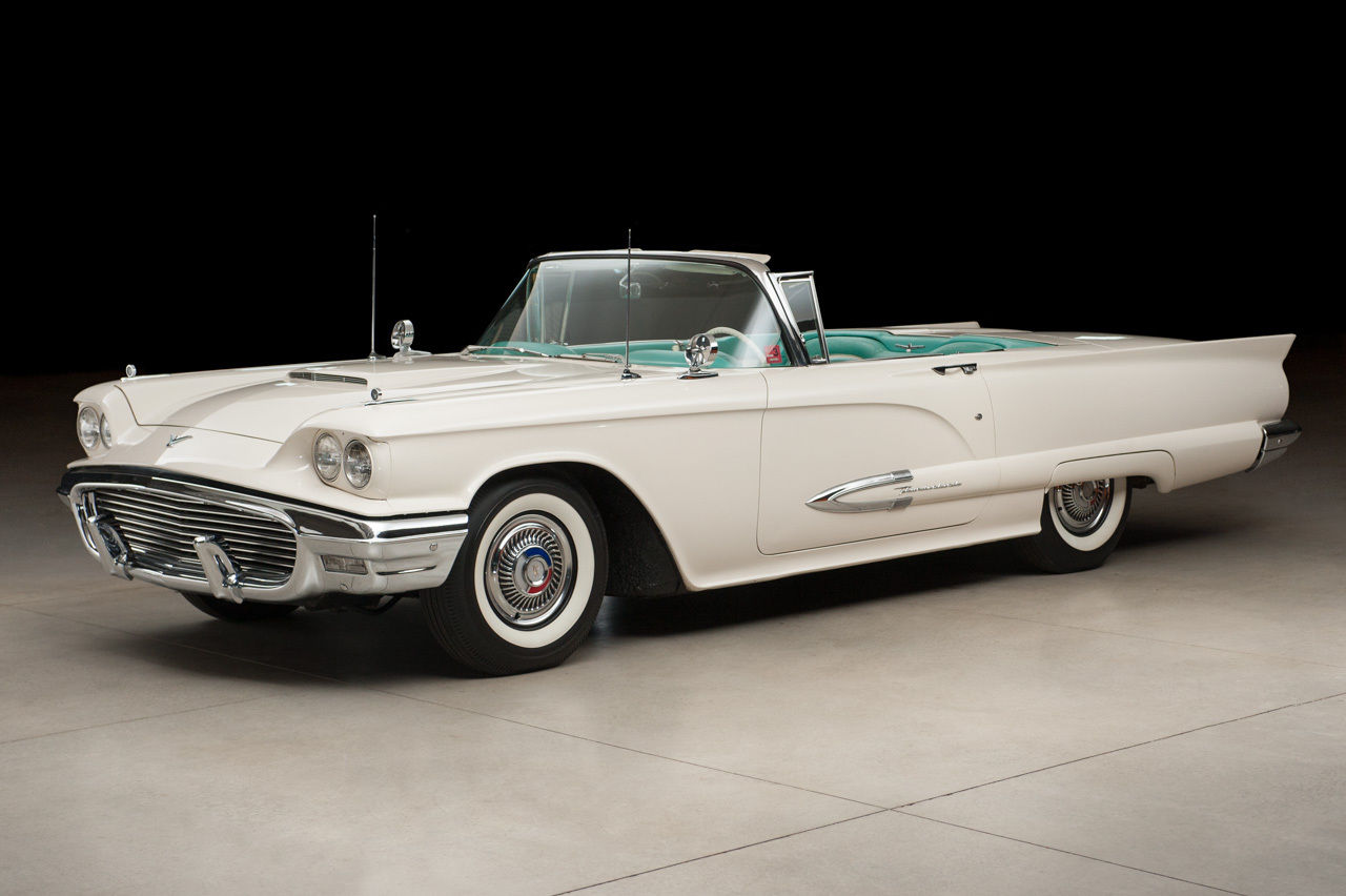 Classic Ford Convertible Cars