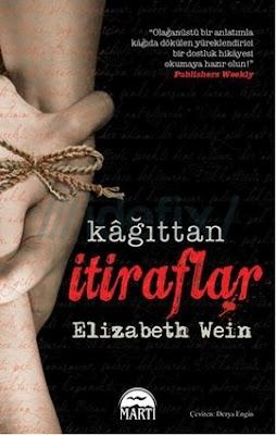 Kağıttan İtiraflar-Elizabeth Wein