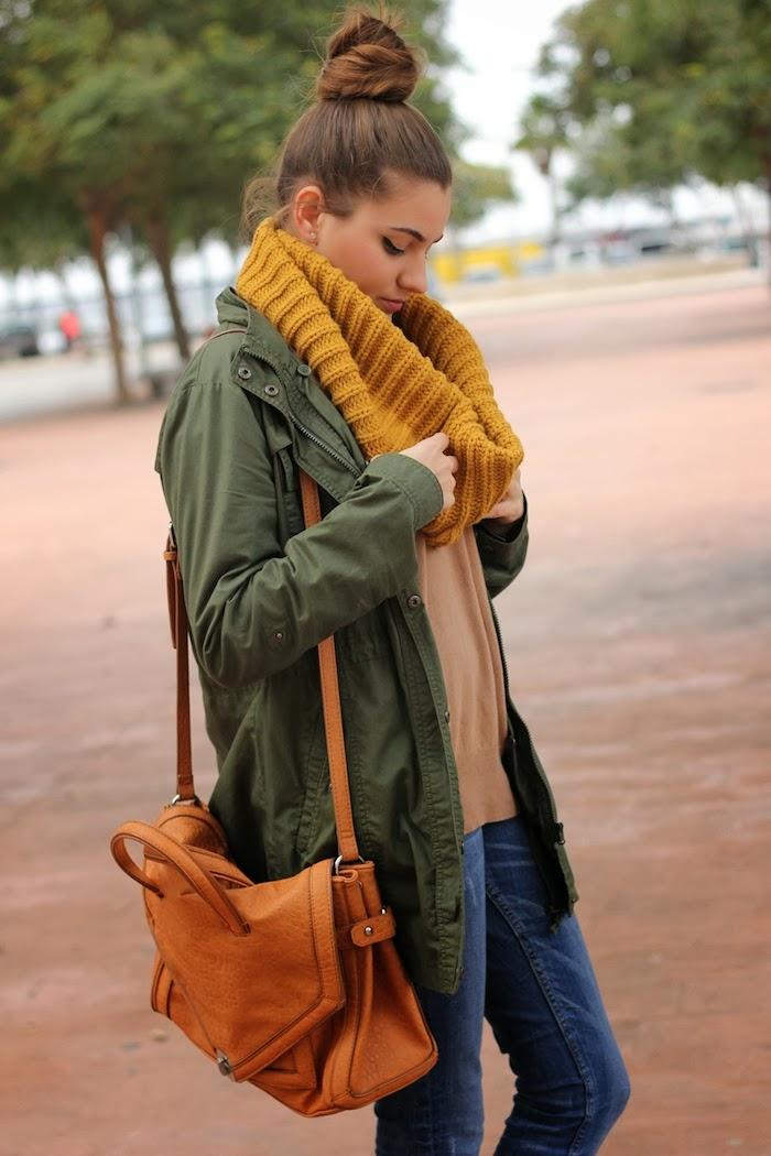 Bufanda/Scarf Primark au/w13,14 3.Jersey Zara au/w13,14 4.Jeans SuiteBlanco 5.Botines/booties PullBear 6.Bolso/Bag Zara