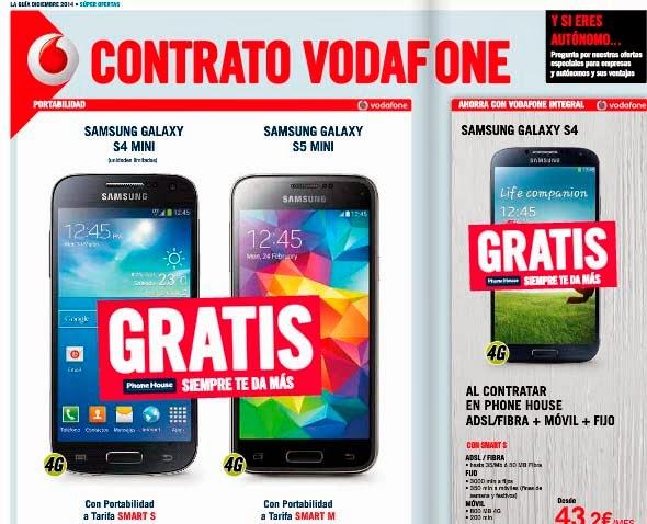 Ofertas Vodafone en diciembre 2014