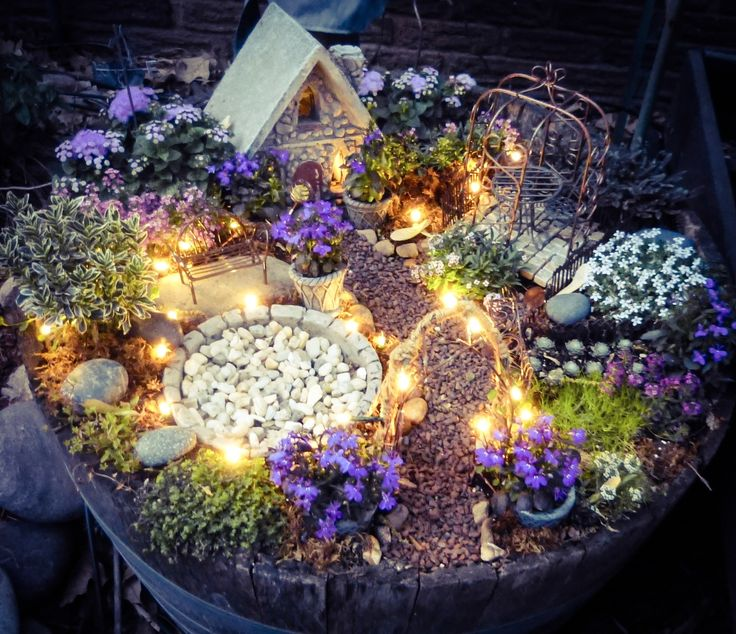 My Unsettling Life Fairy Garden Ideas