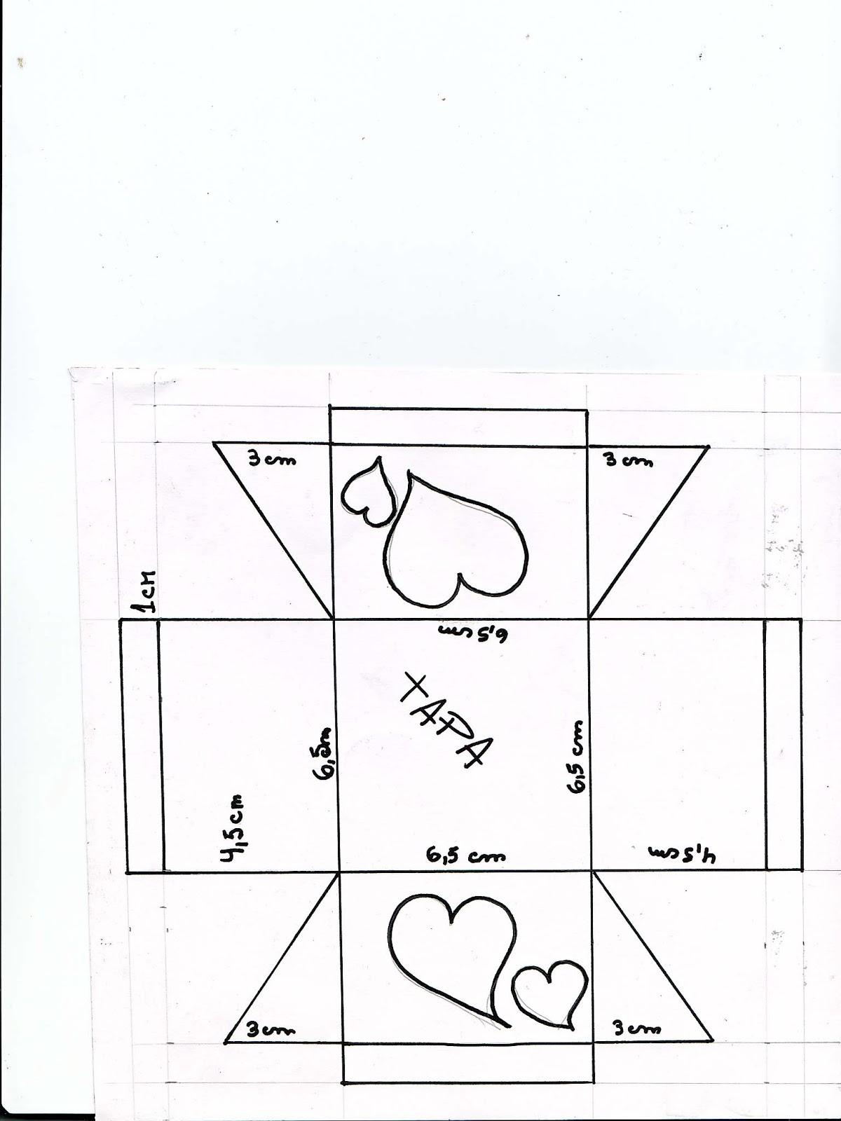 Manualidades para todos cajita con corazones - La cajita manualidades ...