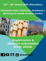 EAHP Congress, 27-29 March 2019, Barcelona, Spain