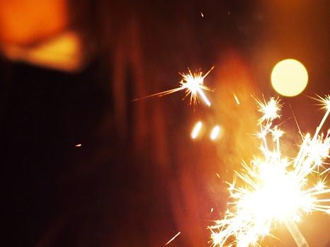 45. Fotograficznie - zdjęcia zimnych ogni.