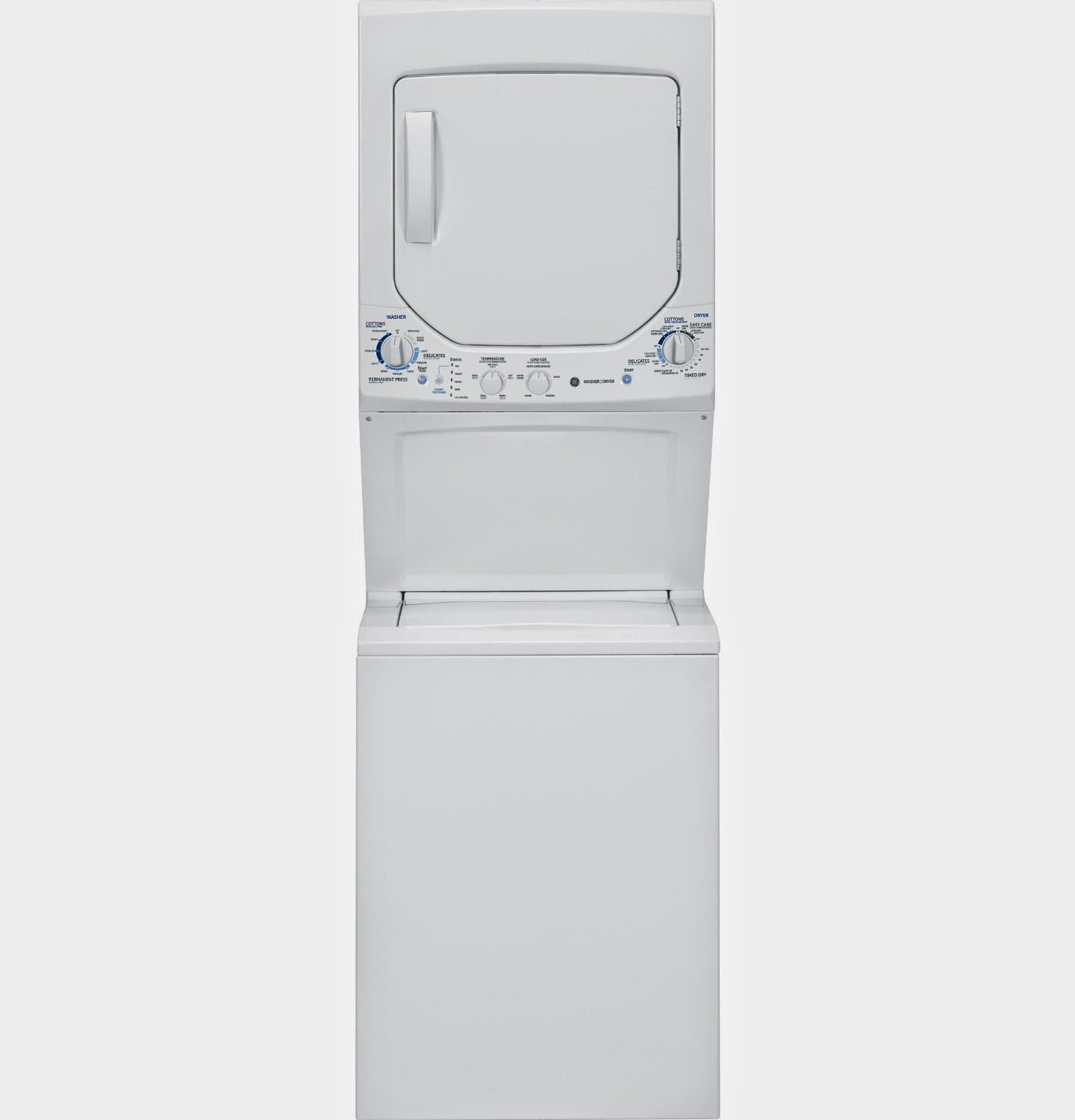 GE Spacemaker 4.4 CF White Clothes Washers
