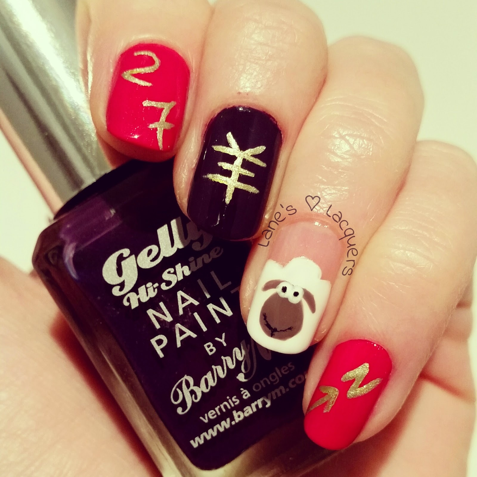 barry-m-chinese-new-year-sheep-nail-art (2)