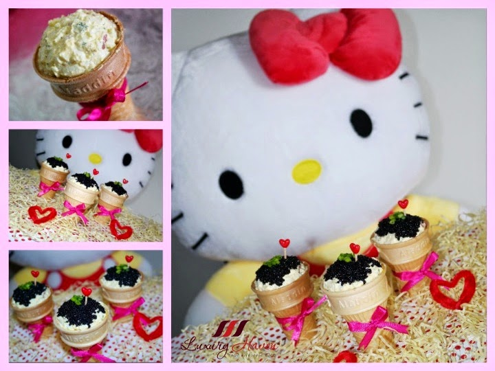 hello kitty valentines day caviar ice cream recipes