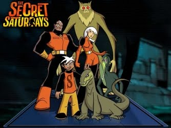 Cartoon Network The Secret Saturdays Oyunları